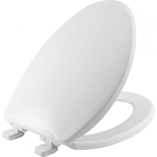 Elongated Caswell Plastic Slow-Close Toilet Seat