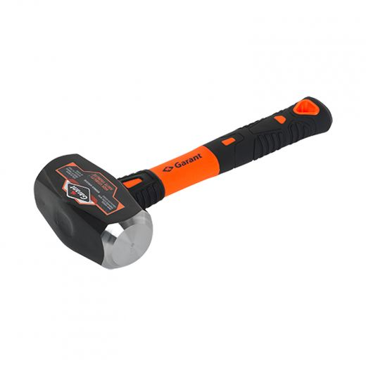 "4 Lb 11"" Mason Club Hammer With Fiberglass Handle"