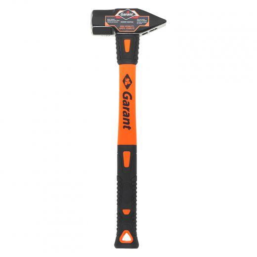 "3 Lb 16"" Blacksmith Hammer With Fiberglass Handle"
