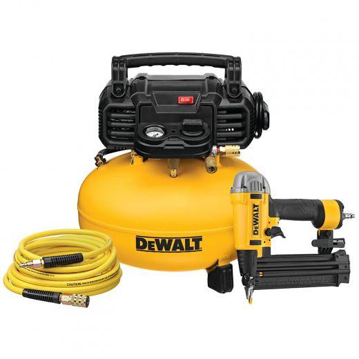 Dewalt Nailer And Compressor Combo Kit