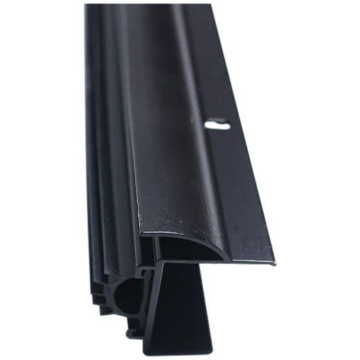 """Vinyl Foam & Drip Edge Door Bottom 36""""-Black"""