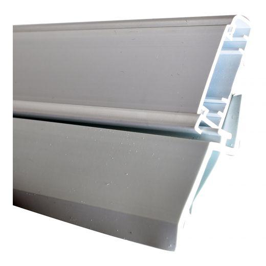 Garage Triple Seal Vinyl Door Jamb 8'-White