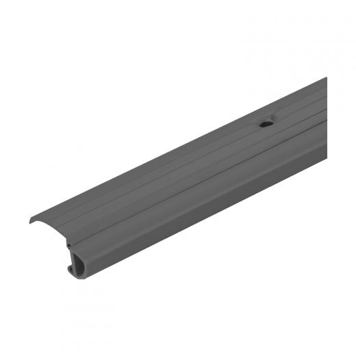 """Aluminum Bumper Door Threshold With Vinyl Insert 36""""-Grey"""