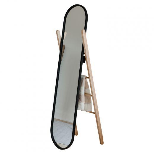 Umbra Hub Floor Mirror With Ladder
