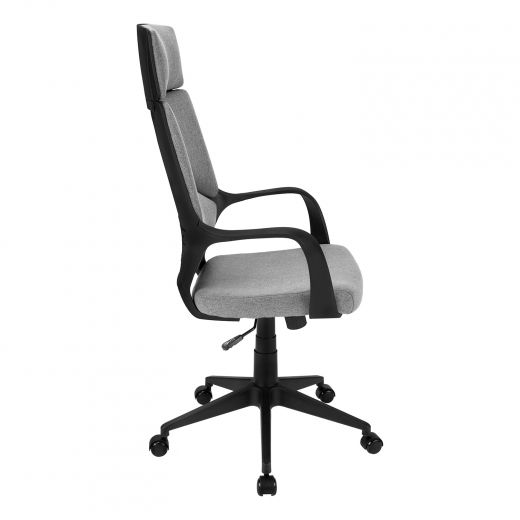 Dark Grey Fabric Executive Office Chair