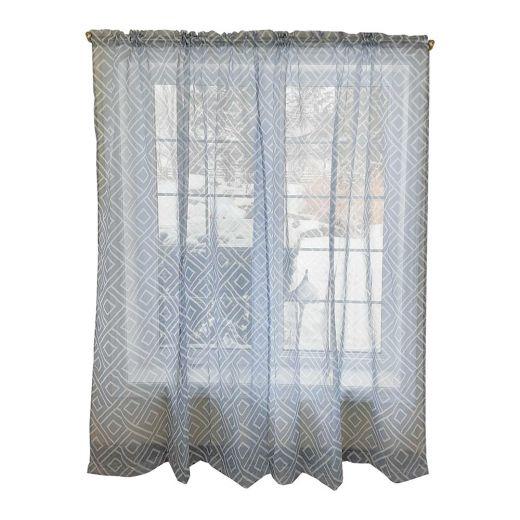 "52"" x 84"" Printed Dolly Pocket Curtain"