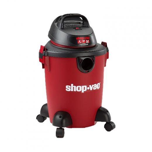 6 Gallon 3.0 HP Red Wet-Dry Vacuum