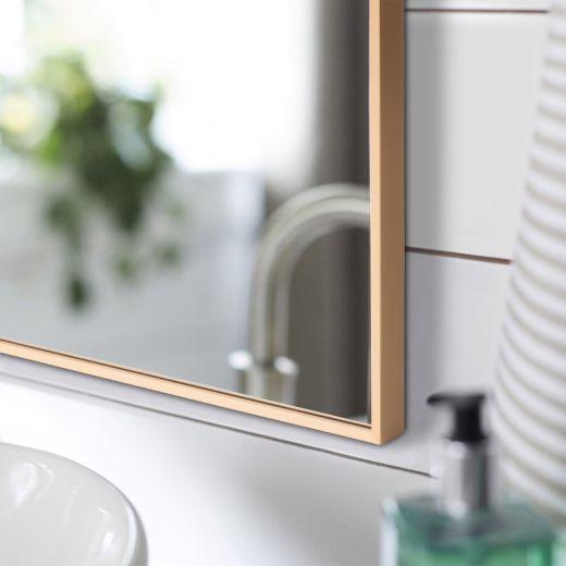 Eden Gold Metal Framed Mirror