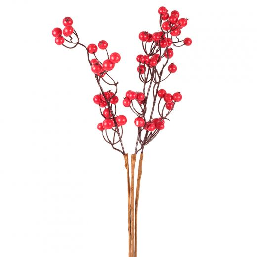 Faux Berry Assorted Stems