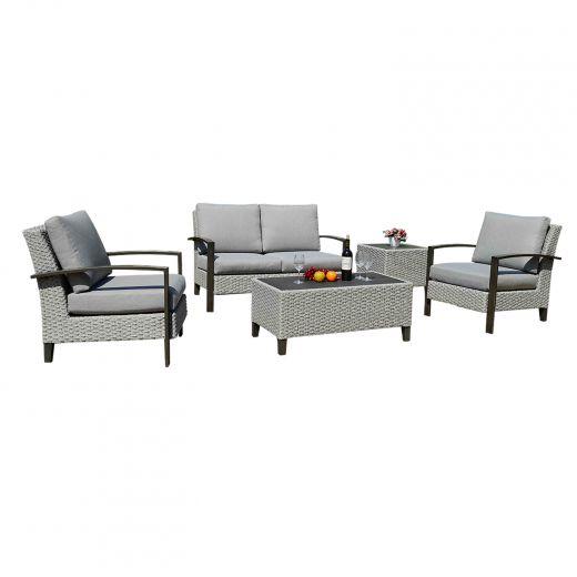 Baker 4 Piece Lounge Set