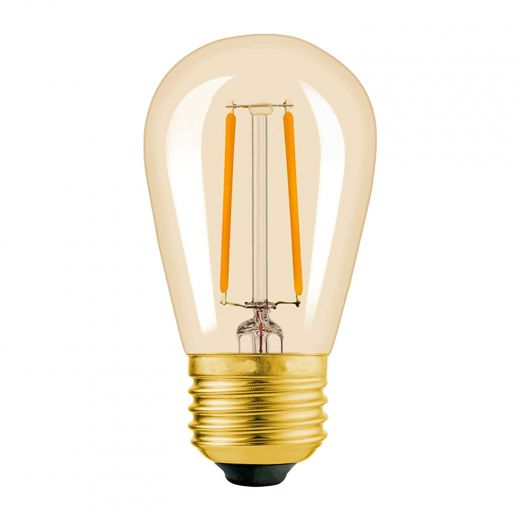 LED Replacement S14 1.5W String Light Bulbs-6/Pack