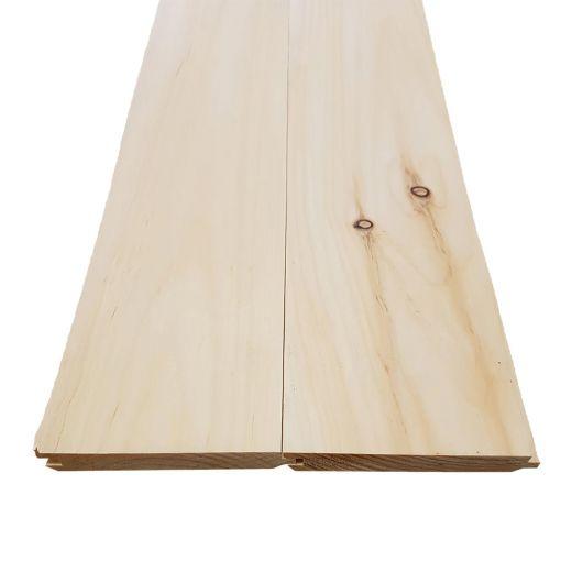1 x 6 x 8 Pine V-joint/Flatback Board