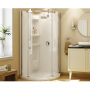Chrome Plated Olympia Shower Stall Kit