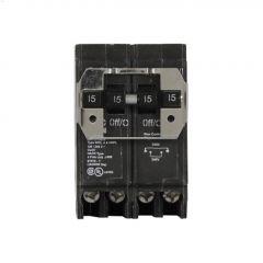 4 Pole (3) 15 A Type DNPL Plug-In Circuit Breaker