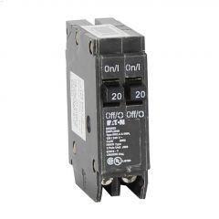 2 Pole (2) 20 A Type DNPL Plug-In Circuit Breaker