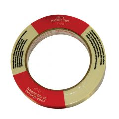18 mm x 55 m Natural Utility Grade Masking Tape