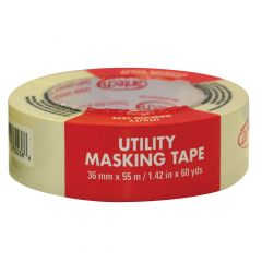 36 mm x 55 m Natural Utility Grade Masking Tape