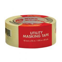 48 mm x 55 m Natural Utility Grade Masking Tape