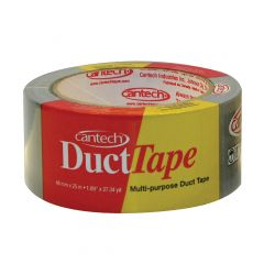 48 mm x 25 m Grey Cloth & Poly Coated Duct Tape