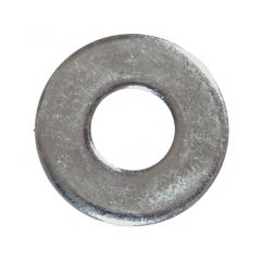 M10 Zinc Plated Steel Grade 8 Flat Washer-5/Pack
