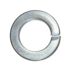 M12 Zinc Plated Steel Grade 8 Split Lock Washer-5/Pack