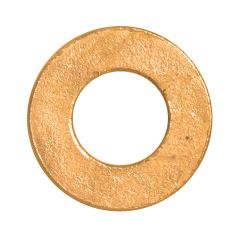 """3/8"""" Brass Flat Washer-1/Pack"""