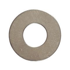 #6 Stainless Steel Flat Washer-5/Pack