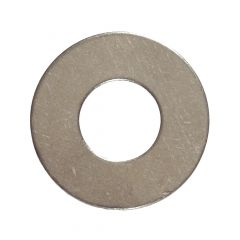 """1/4"""" Stainless Steel Flat Washer-5/Pack"""