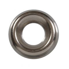 """1/4"""" Stainless Steel Finish Washer-5/Pack"""