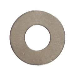 """1/4"""" Stainless Steel Flat Washer-20/Pack"""