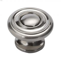 "1-1/2"" Satin Nickel Altair Cabinet Knob"