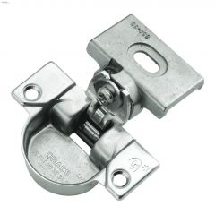 Bright Nickel Steel Euro Frame Euroframe Hinge