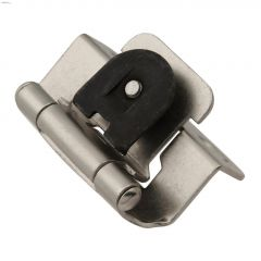 Satin Nickel Steel Self-Closing Single Demountable Hinge
