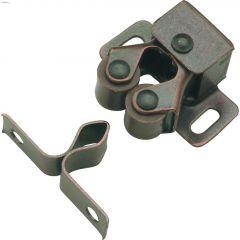 29 mm x 35 mm Statuary Bronze Functional Roller Catch