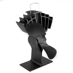 "3"" x 5-1/2"" x 9"" Black Ecofan UltrAir"