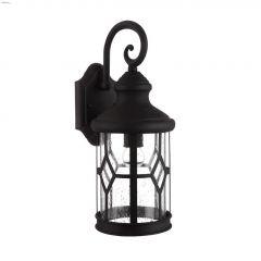 Atlanta (1) Lamp A 100 Watt Black Outdoor Light