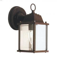 Downcast Black Outdoor Lantern