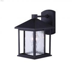 West (1) Lamp A 100 Watt Black Outdoor Light