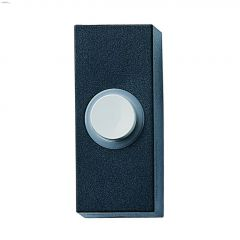 UV Resistant Plastic Black Wired Push Button