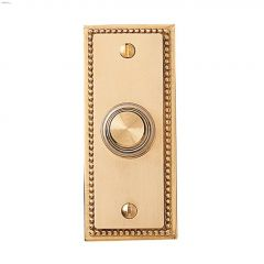 Solid Brass Recessed Mount Wired Push Button