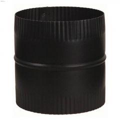 """6"""" Black Matte Connector Union Piece"""