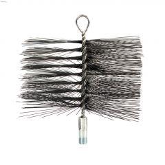 """6"""" x 10"""" Round Wire Chimney Brush (Rectangular)"""