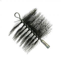 "6"" x 6"" Supersweep Round Wire Chimney Brush"