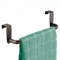 """9-3/4"""" x 2-1/2"""" x 21/2"""" Bronze Axis Roomy Towel Bar"""
