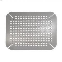 "14"" x 16"" Graphite Contour Sink Saver"