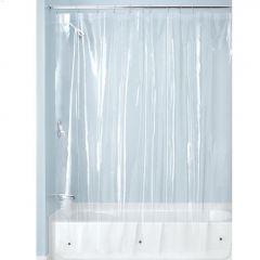 """54"""" x 78"""" Clear 3 Gauge PEVA Shower Liner"""