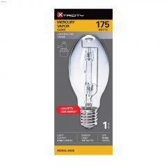Clear 175 Watt Mogul Mercury Vapor Bulb