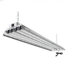 Grid 4 Light T8 32 Watt Fluorescent Shop Light