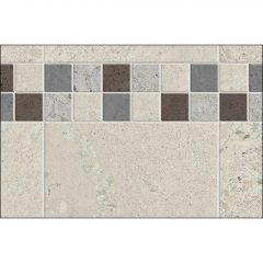 "60"" x 1-1/8"" x 80"" Stone Sahara Utile Side Wall Panel"