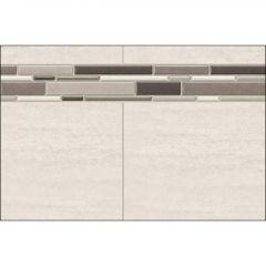 """32"""" x 1-1/8"""" x 80"""" Origin Greige Utile Side Wall Panel"""
